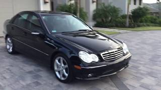 2007 Mercedes Benz C230 AMG Sport Review and Test Drive by Bill - Auto Europa Naples