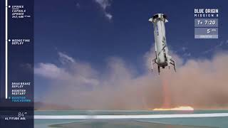 Blue Origin Launches (and Lands) New Shepard Rocket for 8th Time
