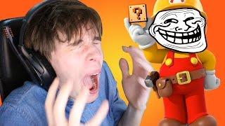EL NIVEL MÁS JODIDAMENTE TROLL | Super Mario Maker