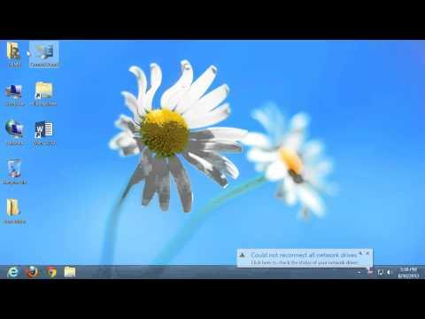 Windows 8 Basics: Changing Screen Resolution and DPI