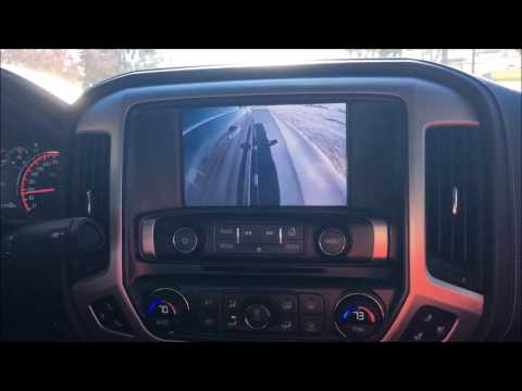 2014-2016 GMC Sierra and Chevy Silverado 360 Surround-Blind Spot Camera System