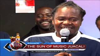 10 OVER 10 | Jua Cali and Dazlah perfoming live