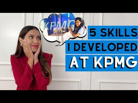 SKILLS I DEVELOPED WORKING AT KPMG / BIG 4