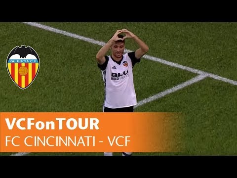 HIGHLIGHTS FC CINCINNATI - VALENCIA CF | 0-2 | Nando y Zaza | Resumen