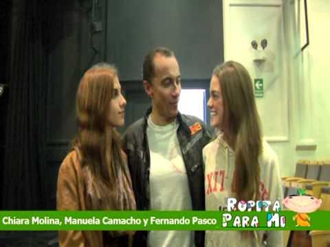 CHIARA MOLINA, MANUELA CAMACHO Y FERNANDO PASCO - ROPITA ...