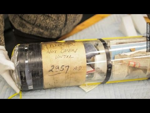 MIT Ignores Note, Cracks Open Time Capsule 942 Years Early - Newsy