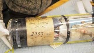 MIT Ignores Note, Cracks Open Time Capsule 942 Years Early - Newsy thumbnail