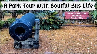 A Tour of Fort McAllister State Park in Georgia with Soulful Bus LIfe