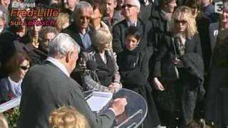 Funérailles jean FERRAT  l