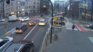 Jedź bezpiecznie odc. 778 (wyłączone światła na skrzyżowaniu ul. Warszawskiej i Szlak w Krakowie)