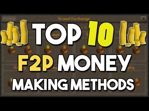 Top 10 Money Making Methods For F2P Accounts - Oldschool Runescape F2P Money Making Methods! [OSRS]