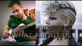PINK - WHAT ABOUT US - COVER PAR SÉBASTIEN CORSO