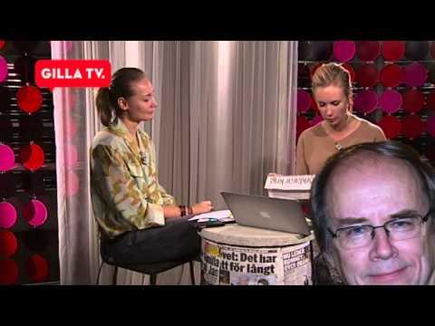 Jenny Strömstedt och Carina Berg skrattar åt Valter Mutts namn