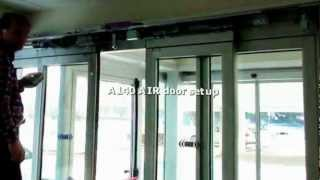 A140 AIR   Automatic Sliding Door Mounting