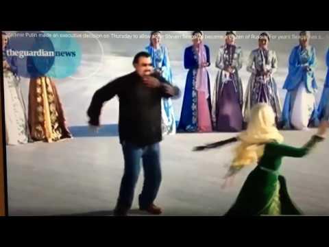 Steven Seagal dancing