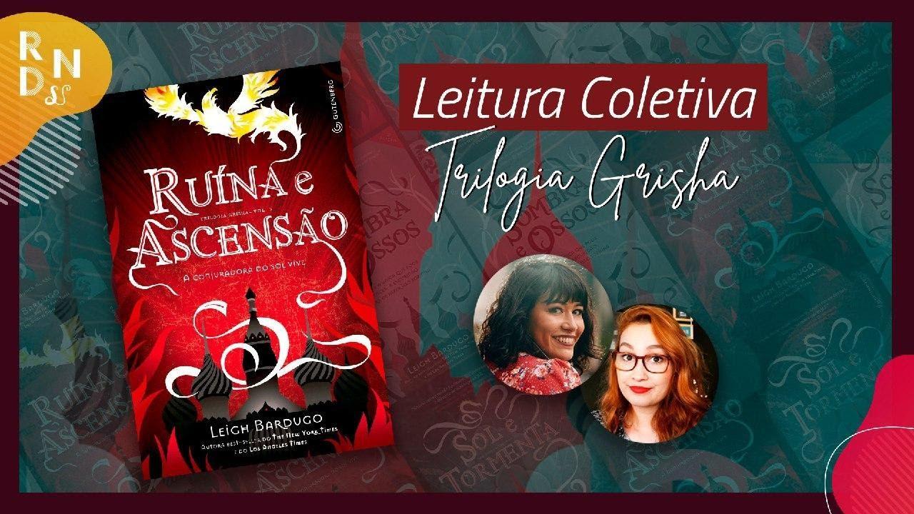 Discussão Ruína e Ascensão (Leigh Bardugo) | #DeVoltaARavka