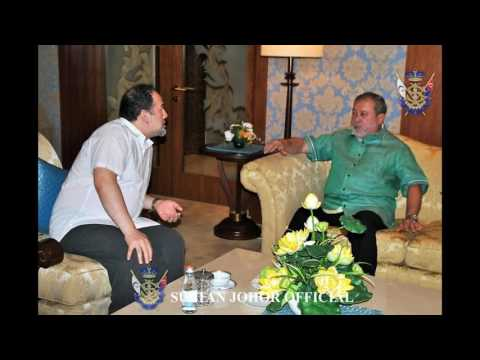 Sultan of Johor : Kunjungan Sultan Johor, Hospital Raja Perempuan Zainab II