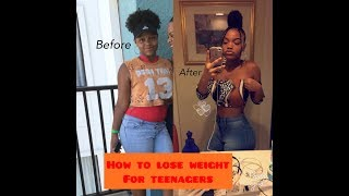 How to Lose Weight for Teenagers