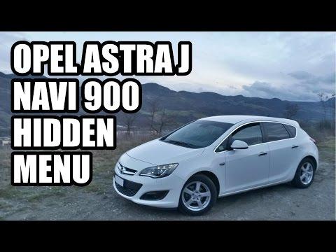 Opel Navi 900 Hidden Menu / Menu Nascosto