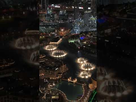 Dubai Fountains | Dubai Whatsapp Status Full HD #shorts