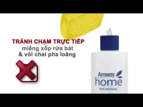 Amway Việt Nam: Hướng dẫn sử dụng sản phẩm Dish Drops