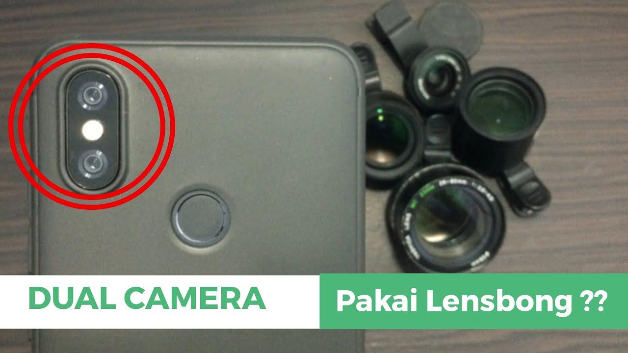 Tips pakai lensbong di dual kamera youtube