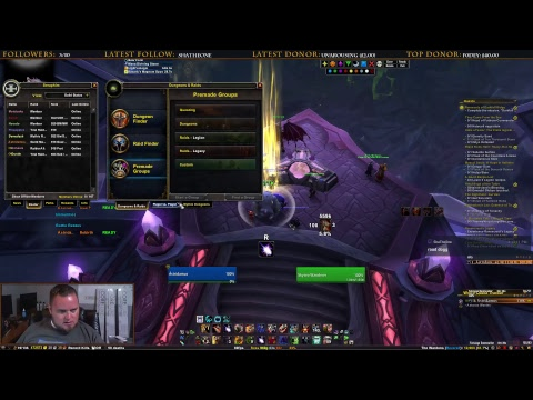 JD Play's World of Warcraft | Opening Argus Quest Line [Guardian Druid PoV]