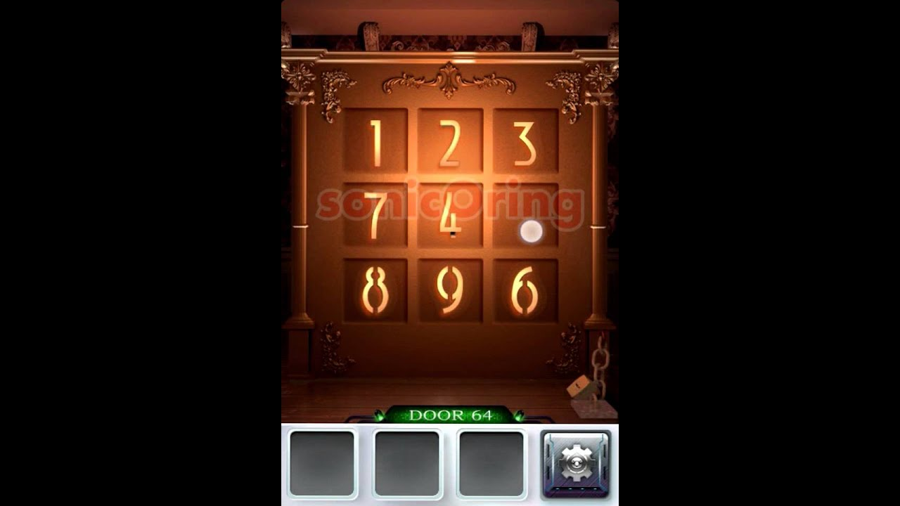 100 doors 3 level 64 walkthrough cheats youtube for Door 4 level 21