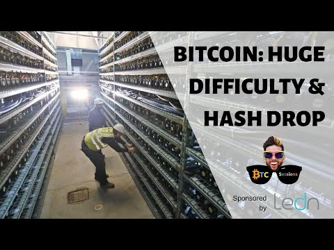 BTC 2nd Largest Difficulty Drop Ever | Fed Printing $6 Trillion | Stocks Pump With Record Job Losses