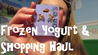 Frozen Yogurt & Shopping Haul ~ Vlog 3/30/15(, 2015-03-31T16:55:46.000Z)