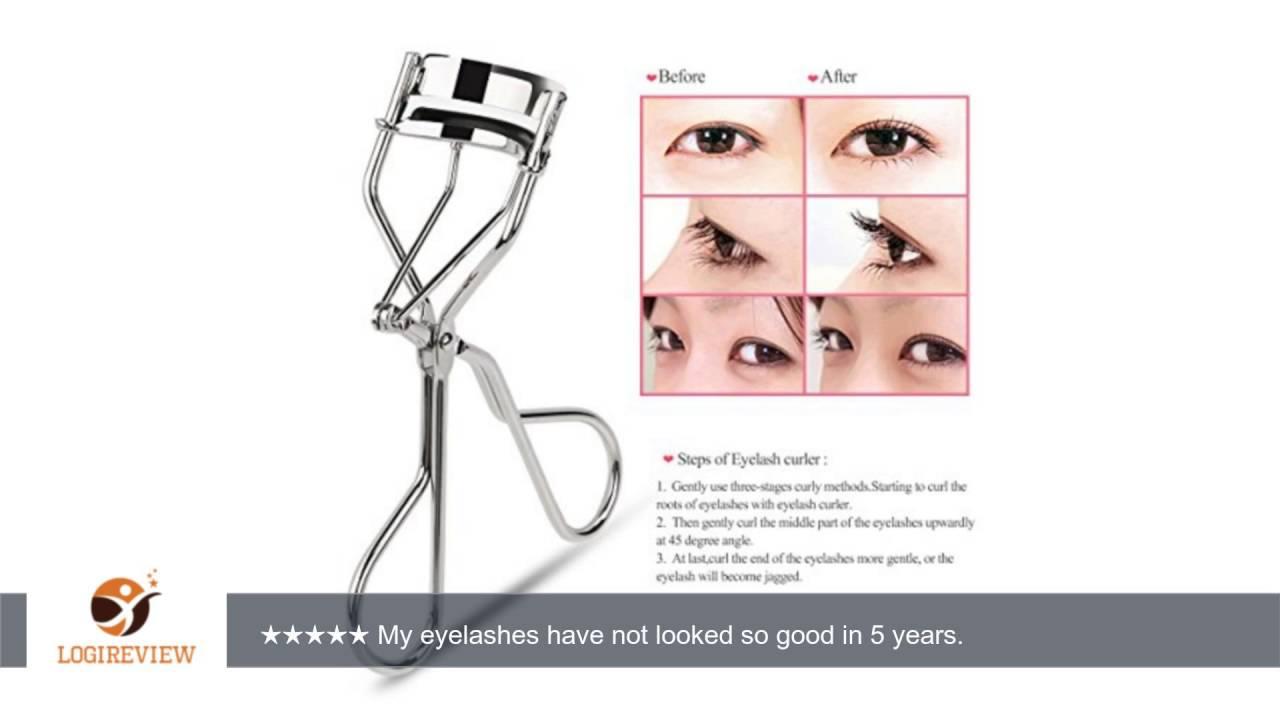 Ruimio Eyelash Curler False Eyelashes Applicator Reviewtest
