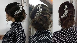 Romantic prom hairstyles for long hair. Романтическая прическа на выпускной на длинные волосы.(Подписывайтесь на канал, чтобы не пропустить новые видео ;) https://www.youtube.com/user/sniganka?sub_confirmation=1 Давайте дружить!..., 2015-03-13T11:52:44.000Z)
