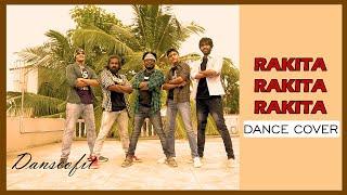 Jagame Thandhiram | Rakita Rakita Rakita Dance Cover | Dhanush | Santhosh Narayanan