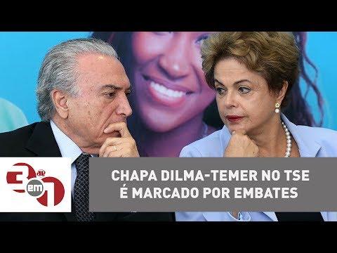 Julgamento Da Chapa Dilma-Temer No TSE é Marcado Por Embates
