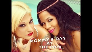 Esther Hanuka & SAMELIA by the Pool Photoshoot