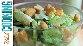 Vegan Caesar Salad |  Hilah Cooking