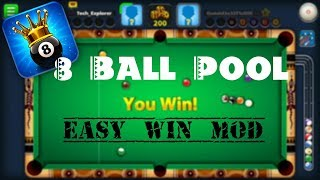 8 BALL POOL Easy Win MOD - Guideline For Cue