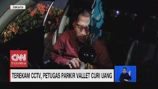 Terekam CCTV, Petugas Parkir Vallet Curi Uang