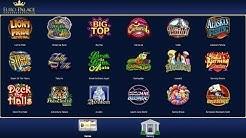 Euro Palace -- Mobile Casino - A Virtual Slot Machine Casino App by Euro Casino - A Video Review