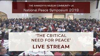 Live National Peace Symposium 2019