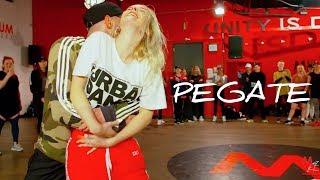 "Gambar cover ""Pegate"" by Power Peralta | Choreography by Nika Kljun & Camillo Lauricella"