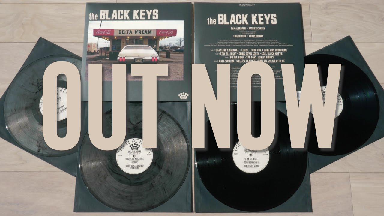 The Black Keys - Delta Kream Vinyl Unboxing