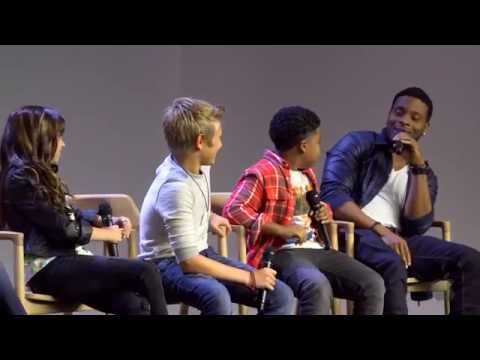 Nickelodeon Game Shakers Cast Interview with Kel Mitchell, Cree Cicchino, Madisyn Shipman, Li' P Nut