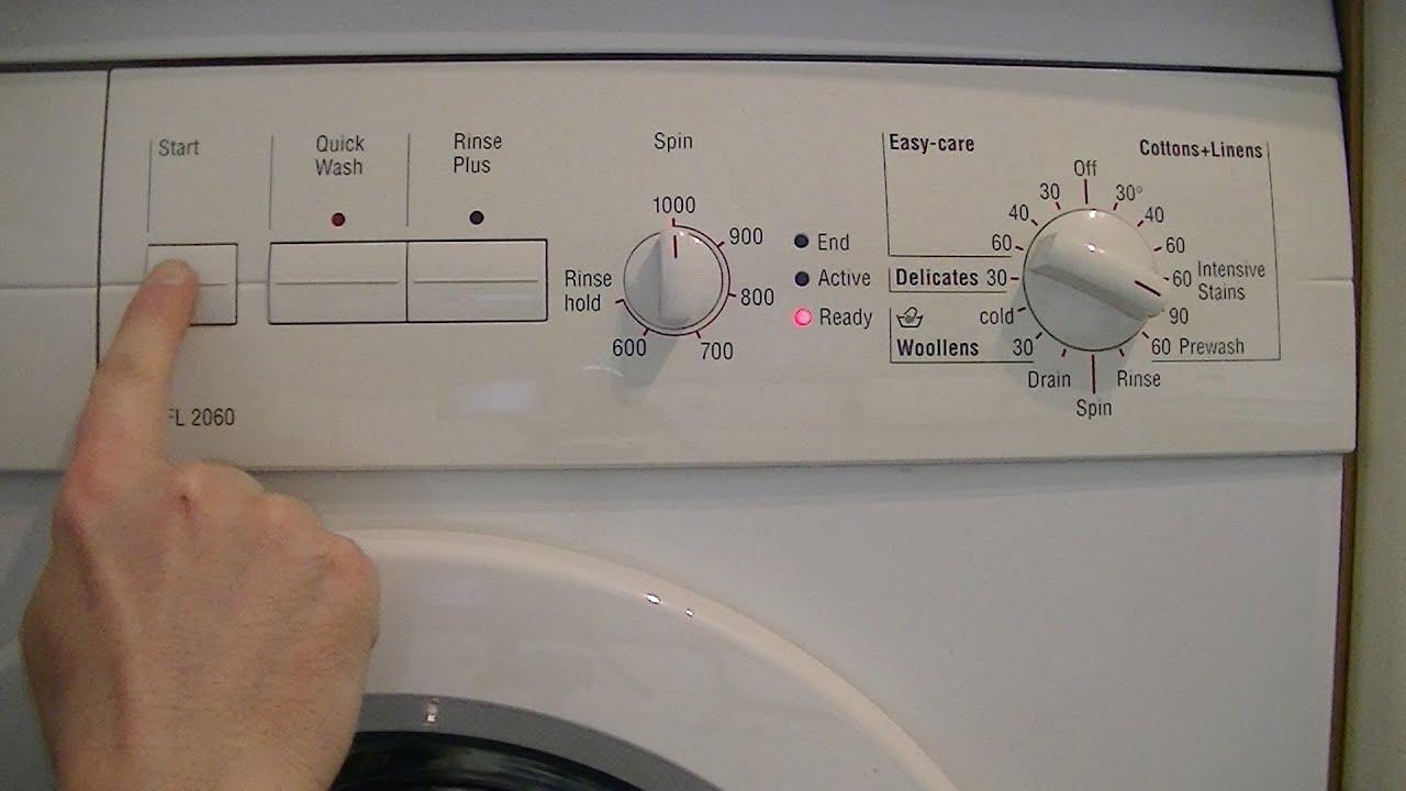 bosch maxx wfl 2060 automatic washing machine overview brief demo rh youtube com