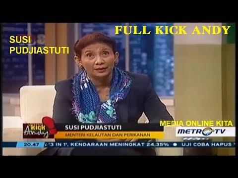 Susi Pudjiastuti & Kisah Suksesnya, Wanita Terkuat Indonesia Kick Andy Full