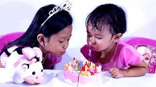 Mainan Kue Ulang Tahun 💖 CAKE PLAY SET 💖 MAINAN ANAK PEREMPUAN 💖 Jessica & Jenica 💖