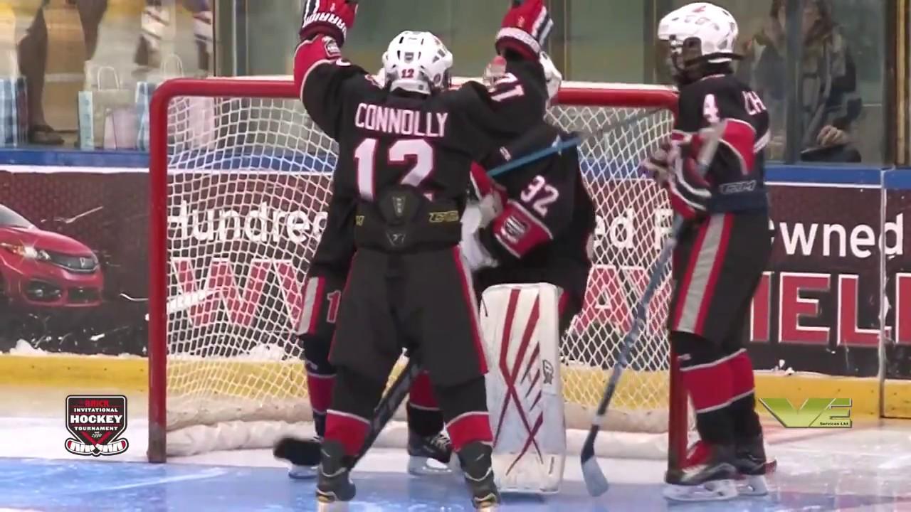 Goalie Saves Styles Conference 2017 Brick Invitational Hockey