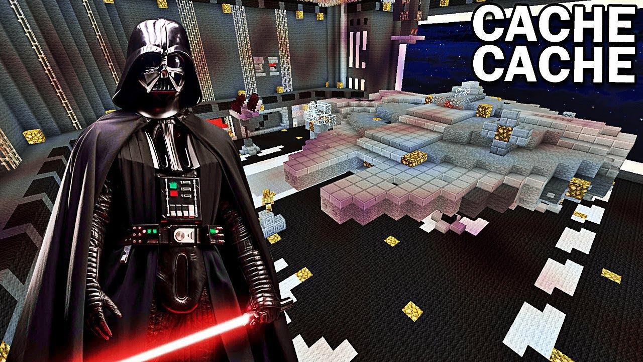 Camera Cachee Star Wars : Cache cache star wars ! minecraft ! youtube