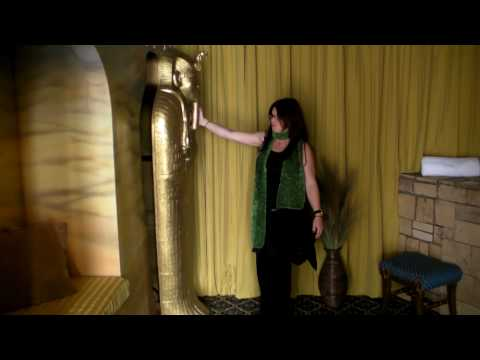 The Victorian Mansion in Los Alamos, CA: The Egyptian Room!!