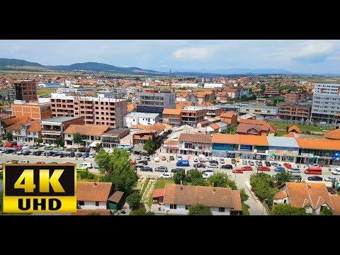 Drenas City in Kosovo - 4K UHD Video